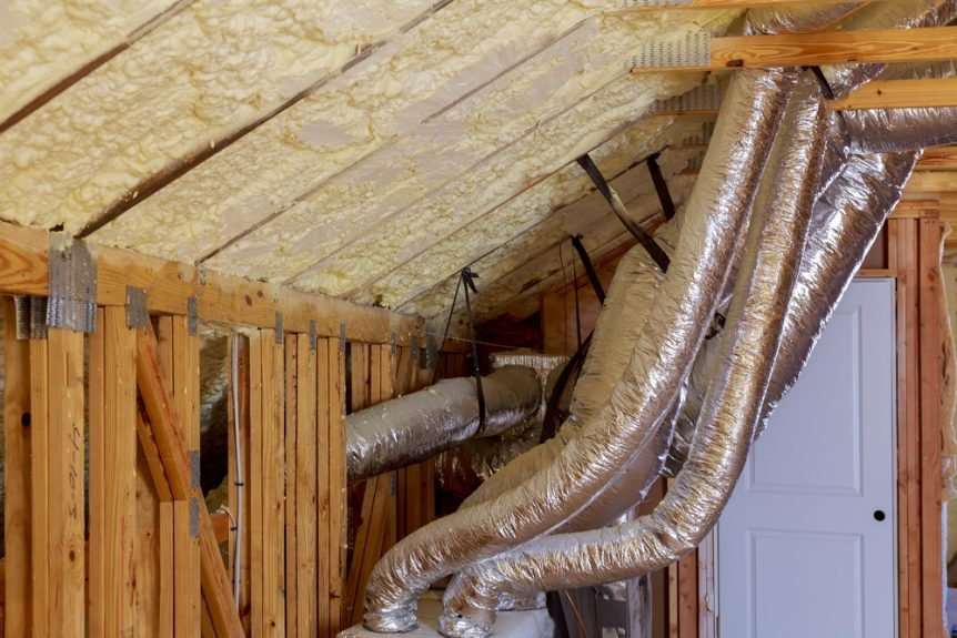 Attic Ventilation and Duct Sealing Energy Efficient Maintenance