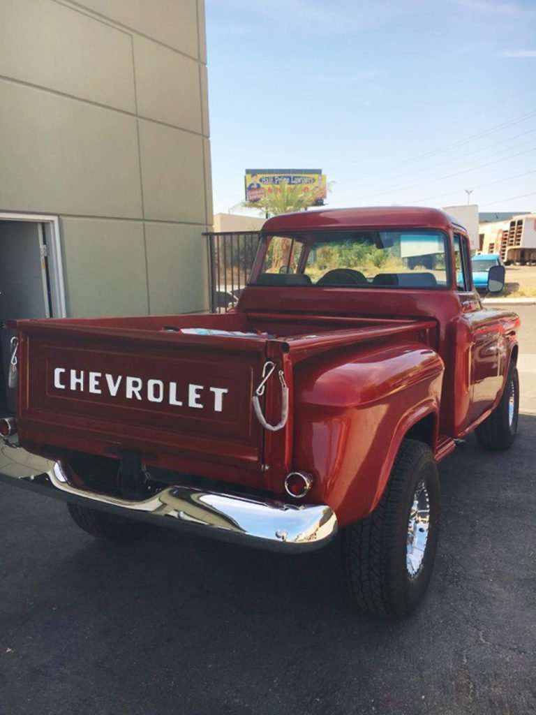 classic Chevy truck