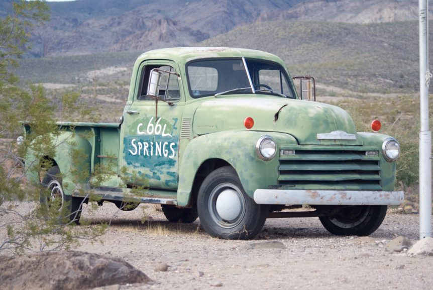 Route 66 Chevy Pickup Truck