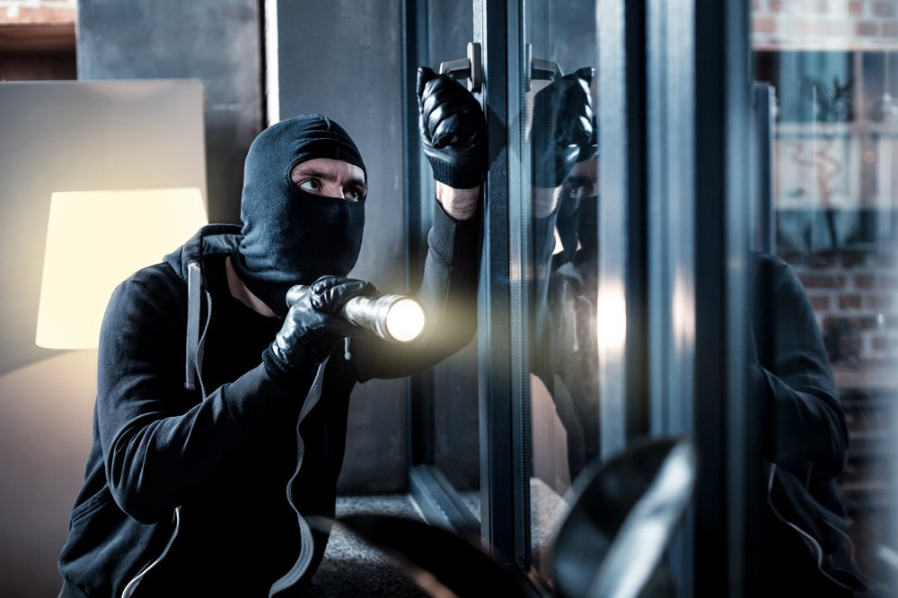 Burglar Attempting Breaking And Entering - Burglary Criminal Defense