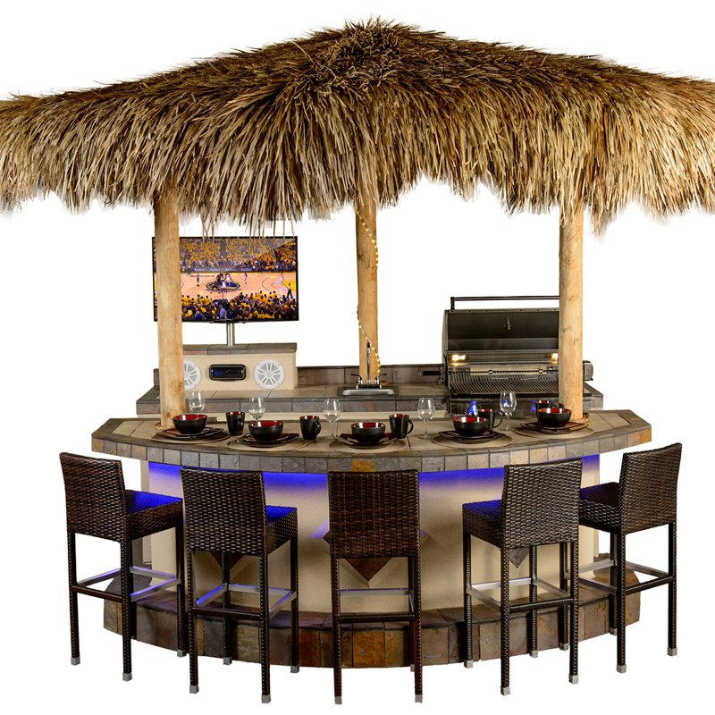 outdoor kitchen from Paradise Grilling Systems