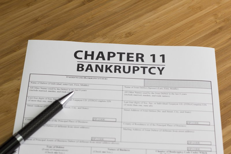 Chapter 11 Bankruptcy form