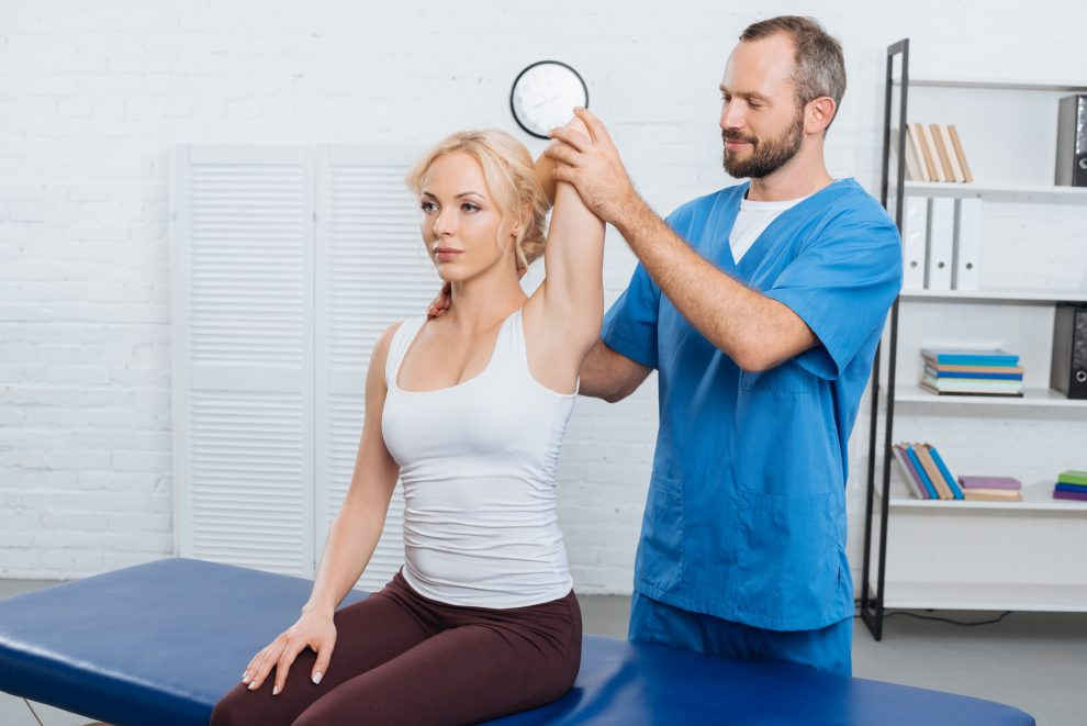 Woman Getting Idaho Falls Physical Therapy