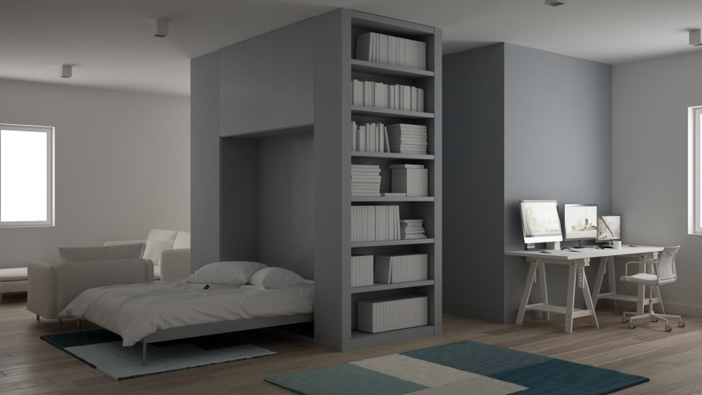 Murphy Beds in apartment