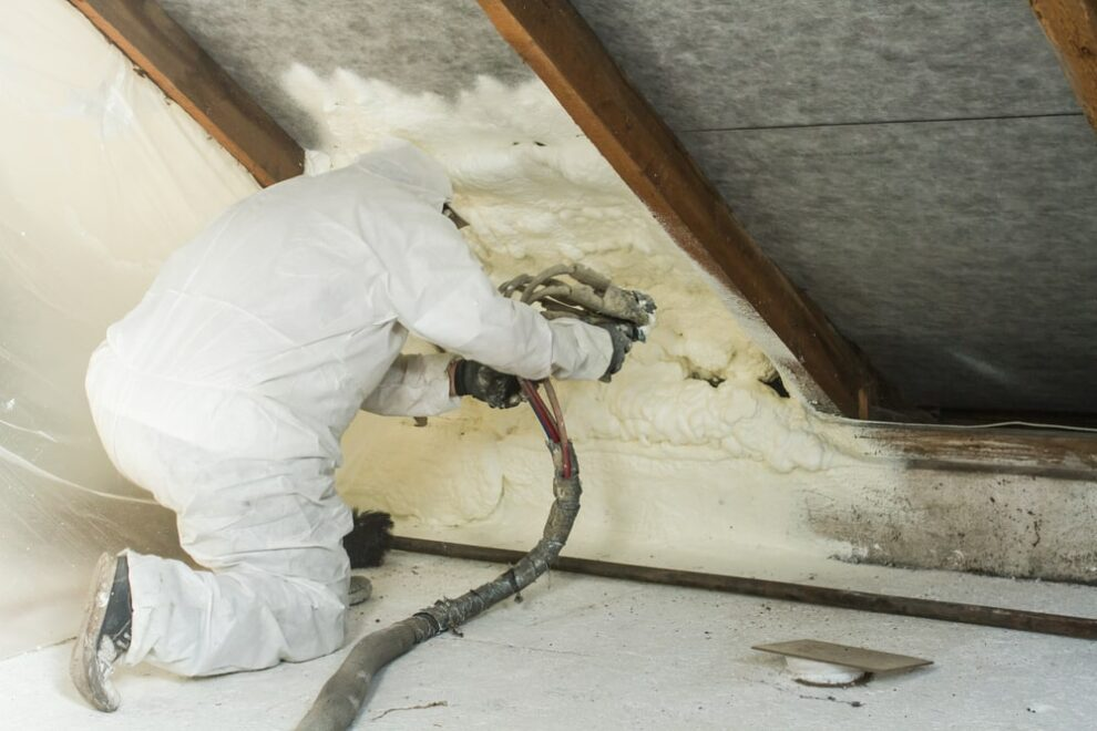 Installation Of Spray Foam For Roof To Save Energy In San Antonio Home